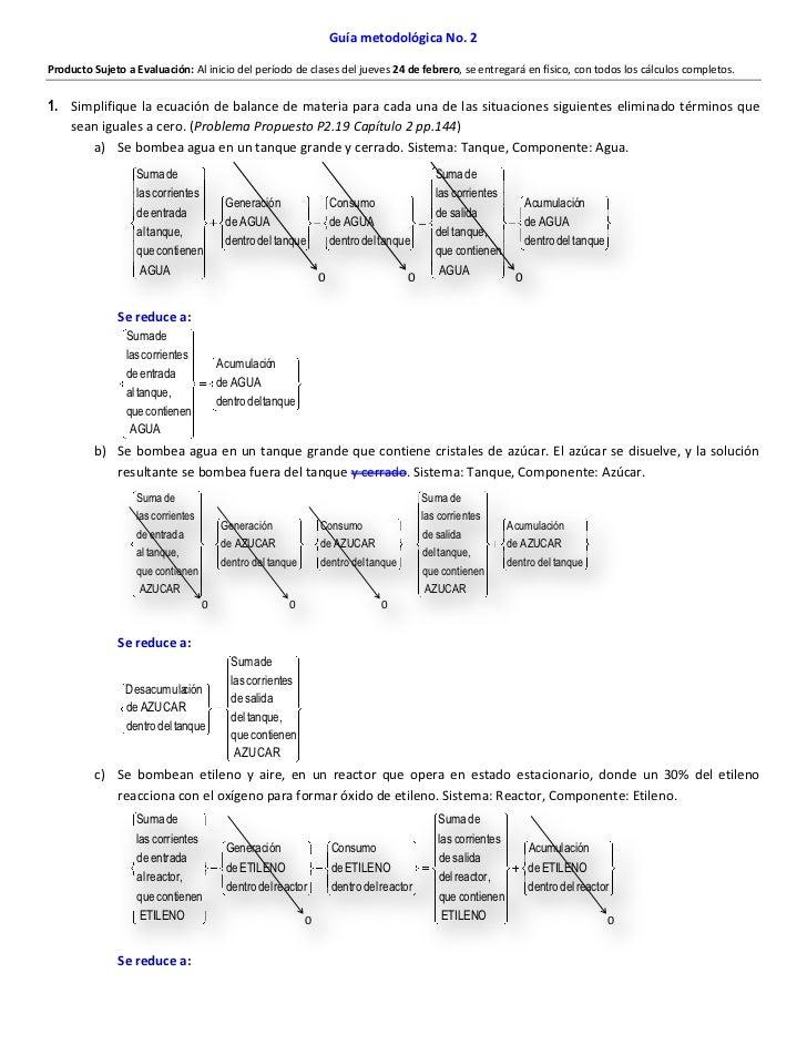 Guía metodológica No. 2Producto Sujeto a Evaluación: Al inicio del período de clases del jueves 24 de febrero, se entregar...