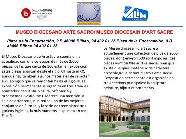 MUSEO DIOCESANO ARTE SACRO/ MUSEO DIOCESAIN D'ART SACRE El Museo Diocesano de Arte Sacro cuenta en la actualidad con una c...