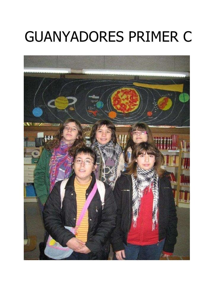 GUANYADORES PRIMER C