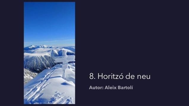 8. Horitzó de neu