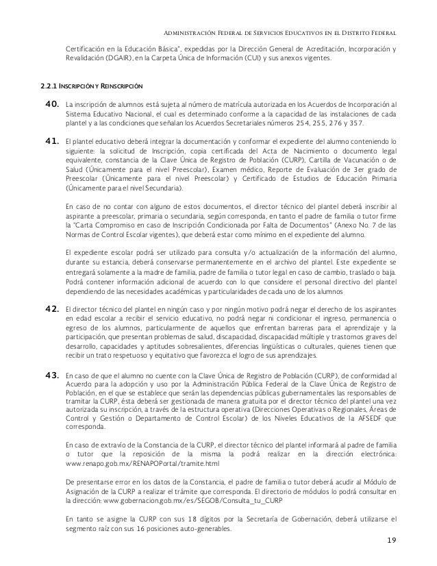Guía Operativa Para Escuelas Particulares 2015 2016