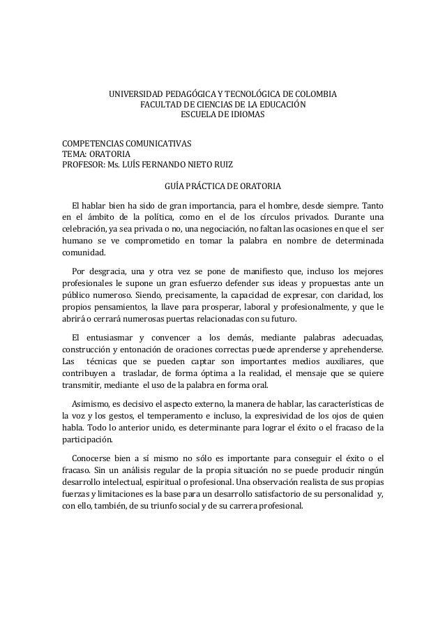 UNIVERSIDAD PEDAGÓGICA Y TECNOLÓGICA DE COLOMBIAFACULTAD DE CIENCIAS DE LA EDUCACIÓNESCUELA DE IDIOMASCOMPETENCIAS COMUNIC...