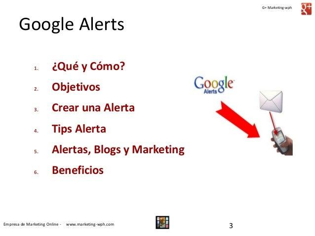 Guía para el Uso de Google Alerts Slide 3