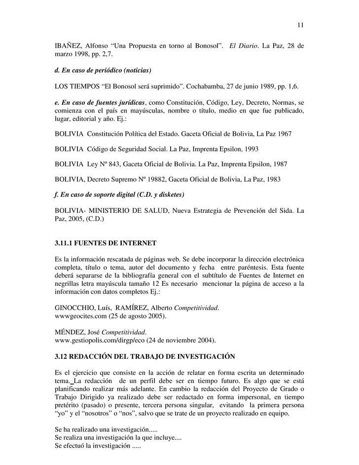 """11IBAÑEZ, Alfonso """"Una Propuesta en torno al Bonosol"""". El Diario. La Paz, 28 demarzo 1998, pp. 2,7.d. En caso de periódico..."""