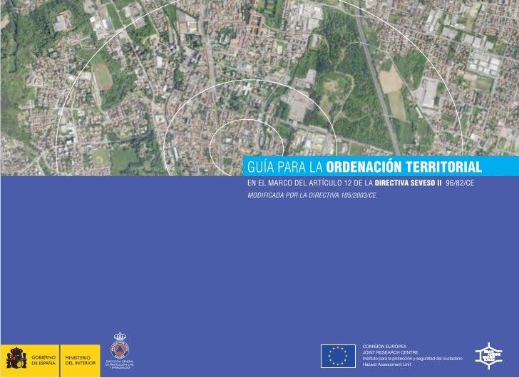 COMISIÓN EUROPEAJOINT RESEARCH CENTREInstituto para la protección y seguridad del ciudadanoHazard Assessment UnitGUÍA PARA...