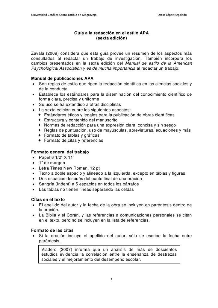 Universidad Católica Santo Toribio de Mogrovejo                      Oscar López Regalado                                 ...