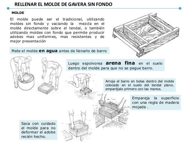CONSTRUCCION DE UNA VIVIENDA DE ADOBE EN LA ACTUALIDAD • Cómo realizar el trazo y la excavación: – Paso 1: Limpia y nivela...