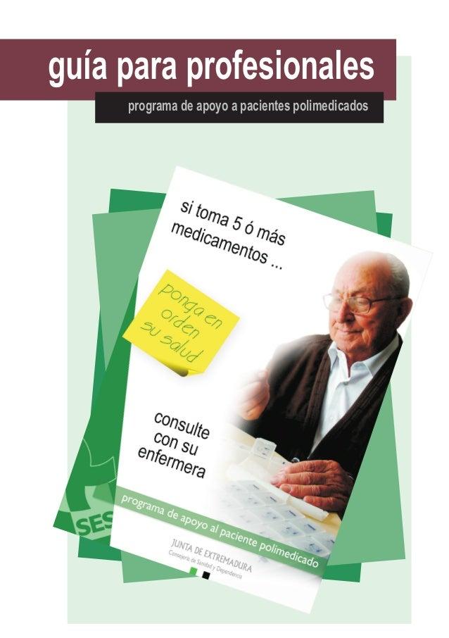 guía para profesionales programa de apoyo a pacientes polimedicados