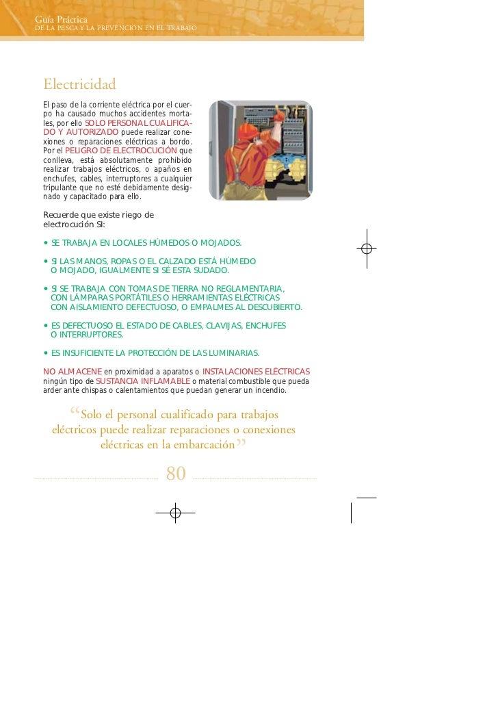 guía práctica de la pesca y la prevención en el trabajo