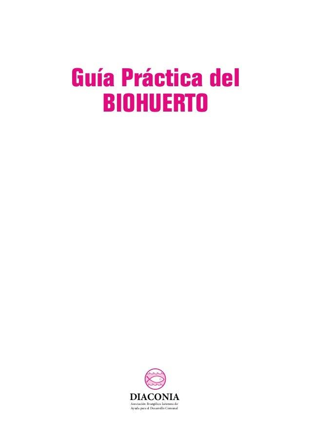 Guía práctica del biohuerto Slide 2