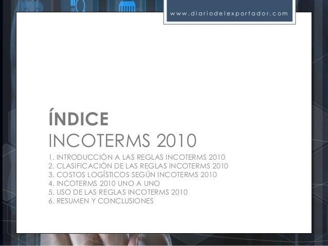 Guía práctica y sencilla Incoterms 2010 Slide 2