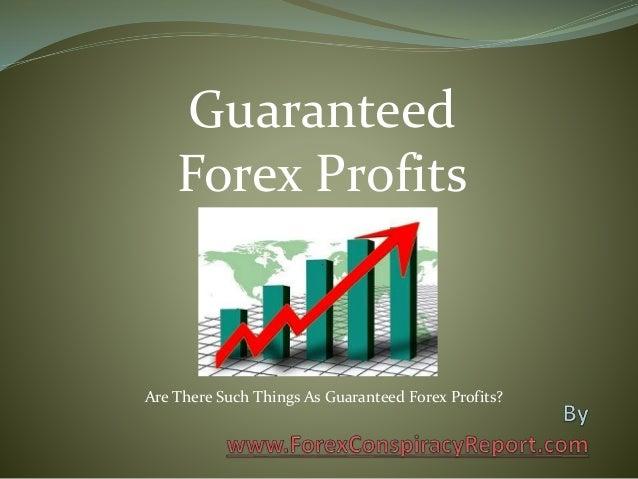 Guaranteed profits forex trading