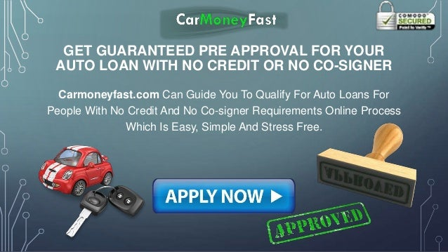 guaranteed bad credit car loans no money down with no co signer is ea. Black Bedroom Furniture Sets. Home Design Ideas