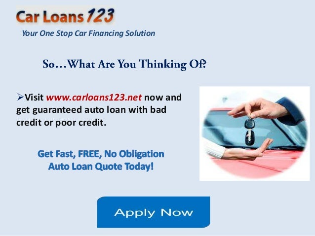 Car Loan Bad Credit Instant Approval