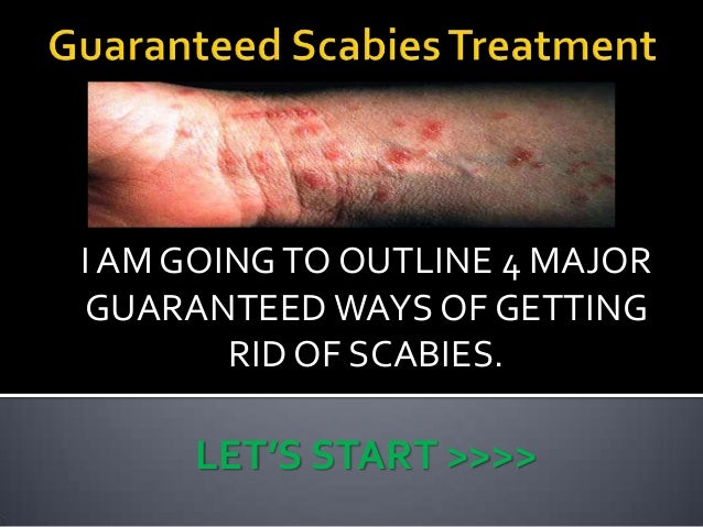 How Can You Get Rid Of Scabies Naturally