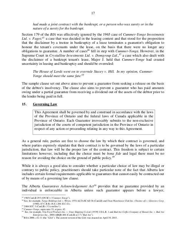 Guarantees in lending transactions 17 platinumwayz