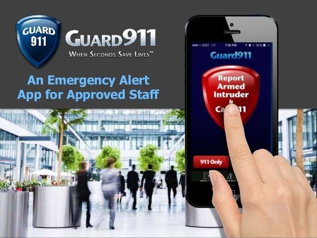 Guard911 Presentation 2020 Slide 3
