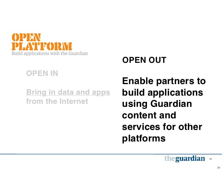 OPEN OUTOPEN IN                         Enable partners toBring in data and apps   build applicationsfrom the Internet    ...