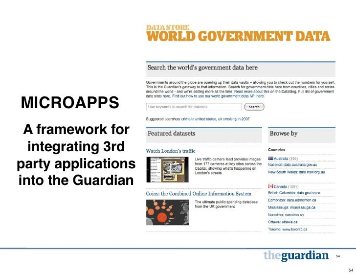 MICROAPPS A framework for  integrating 3rdparty applicationsinto the Guardian                     54                      ...
