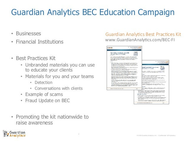 Preventing Business Email Compromise Fraud With Guardian Analytics Re