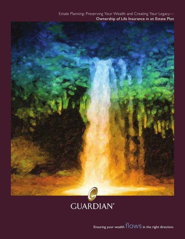 InDesign: Guardian Life Insurance brochure