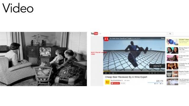 Era 1: Old Media - Old Ads Era 2: New Media - Old Ads Era 3: New Media - New Ads