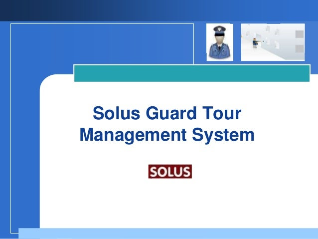 Solus Guard TourManagement System       Company       LOGO