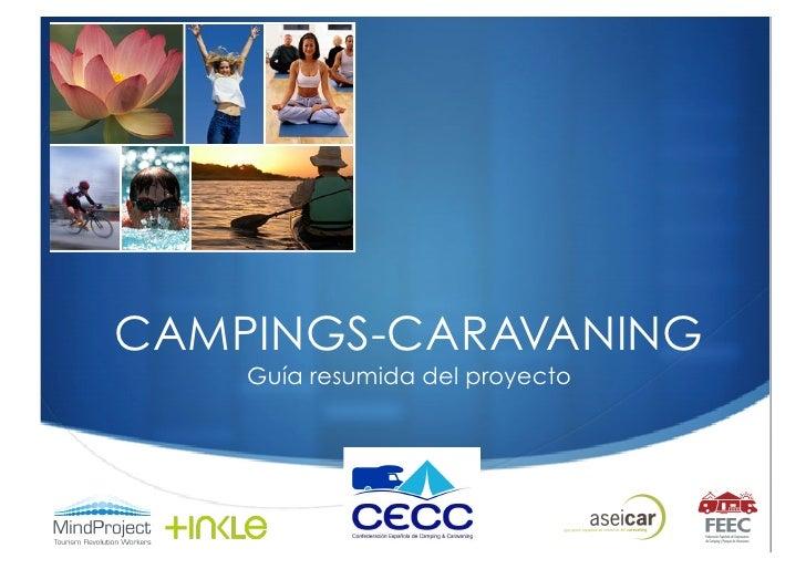 CAMPINGS-CARAVANING     Guía resumida del proyecto