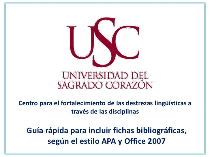 Centro para el fortalecimiento de las destrezas lingüísticas a                   través de las disciplinas  Guía rápida pa...