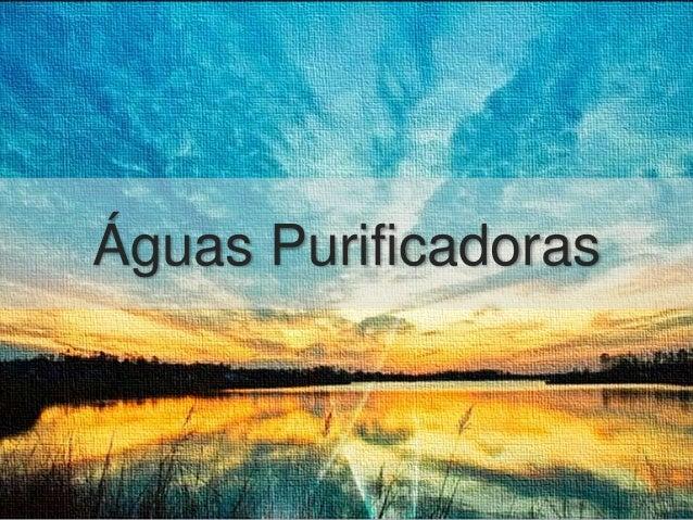 Águas Purificadoras