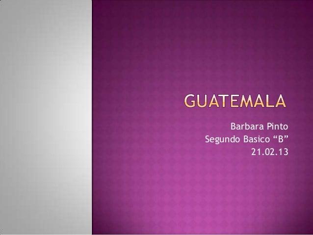 """Barbara PintoSegundo Basico """"B""""          21.02.13"""