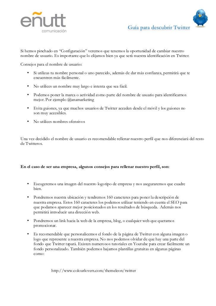 Guía para descubrir Twitter                                           http://www.twitterbackgrounds.org/                 ...