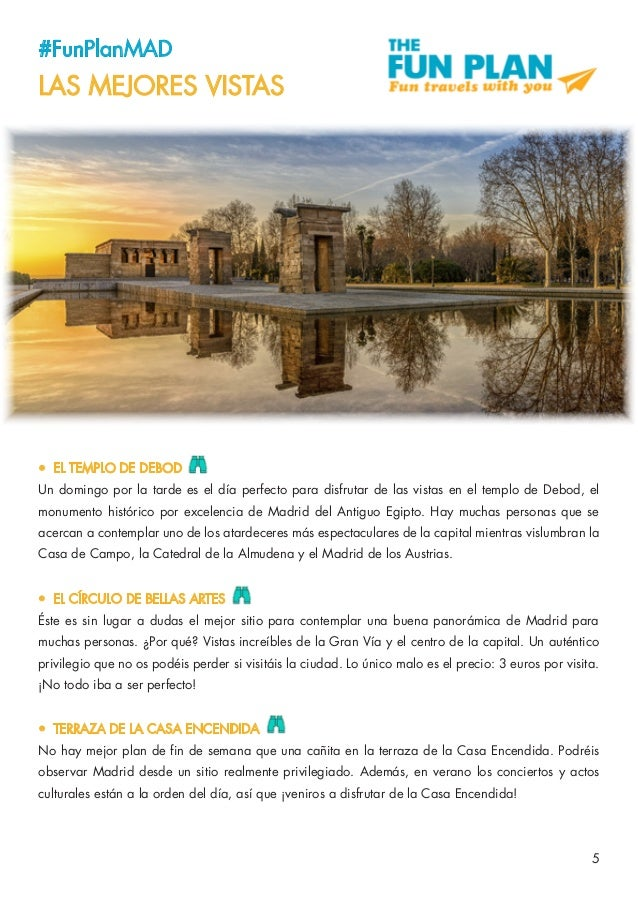 Guía Funplan Madrid