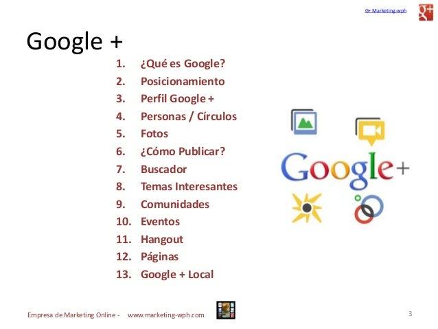 Guía actualizada y Manual para el uso de Google plus Slide 3