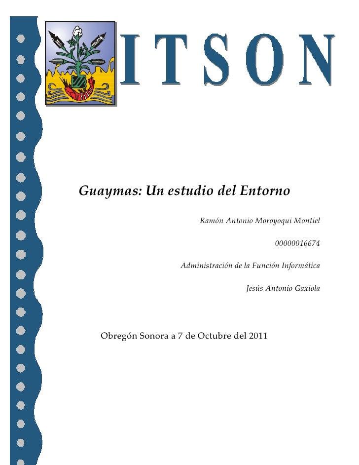 -114300-4572001485900-191135-894715-571500<br />Guaymas: Un estudio del EntornoRamón Antonio Moroyoqui Montiel00000016674A...