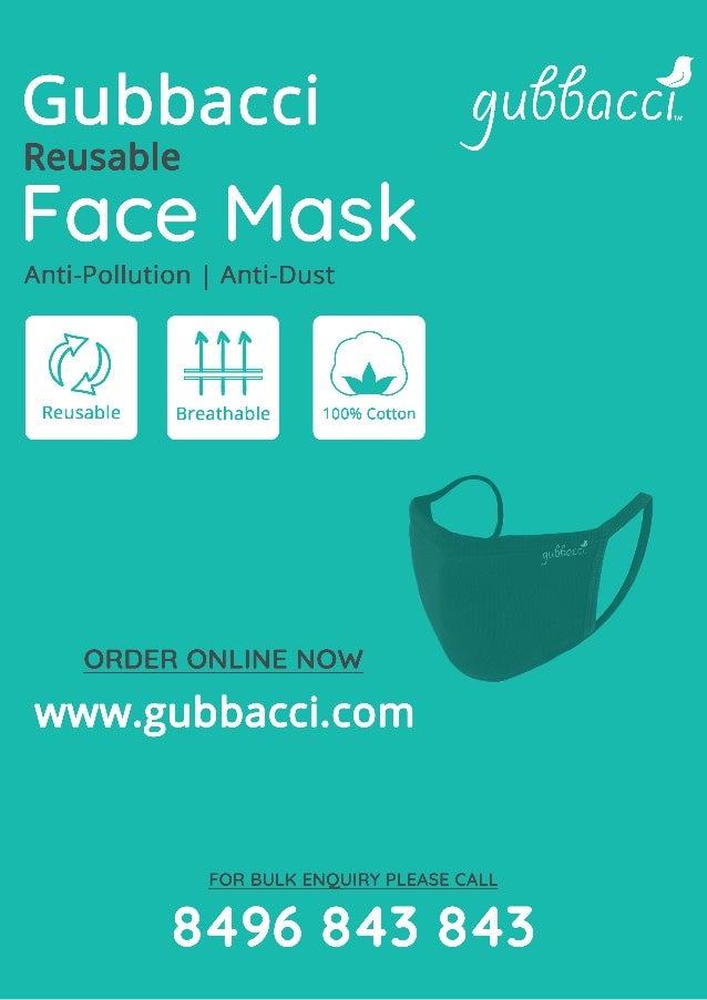 Gubbacci face mask
