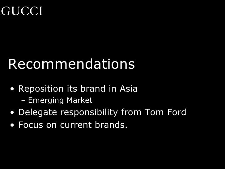 Tom Ford Change of Strategy