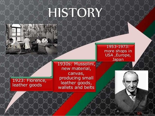 gucci history