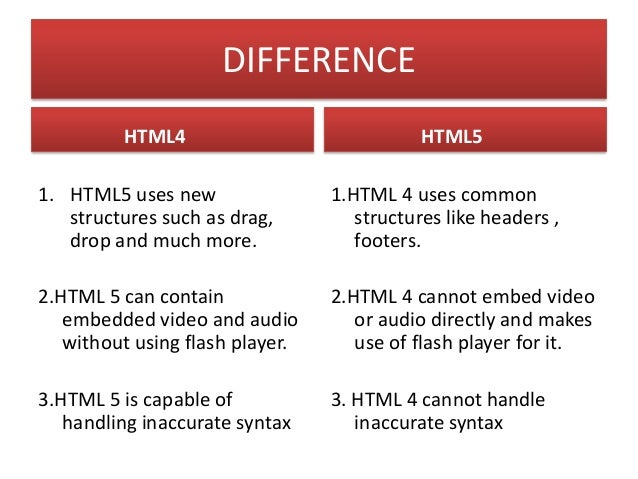 HTML5 Semantic Elements: • <header> • <nav> • <section> • <article> • <aside> • <figcaption> • <figure> • <footer>