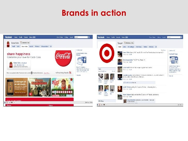 Brands in action