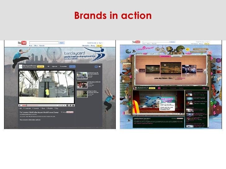 Brands in action