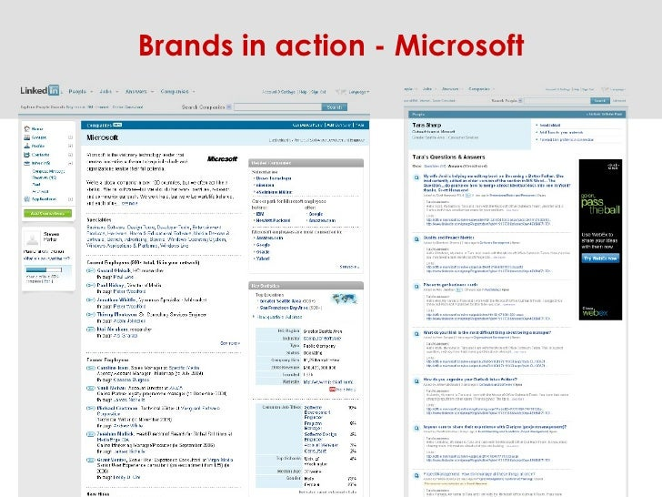 Brands in action - Microsoft