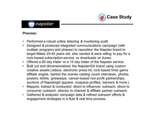 napster case study Napster case study solution, analysis & case study help.