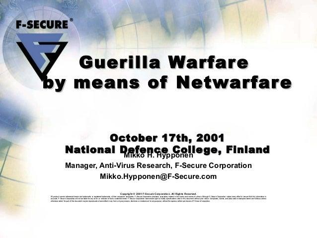Guerrilla warfare definition yahoo dating