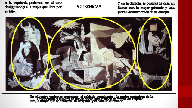 picasso guernica in color