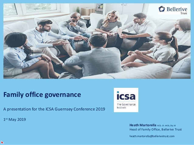 ICSA Guernsey Conference 2019 - Updated presentation slides