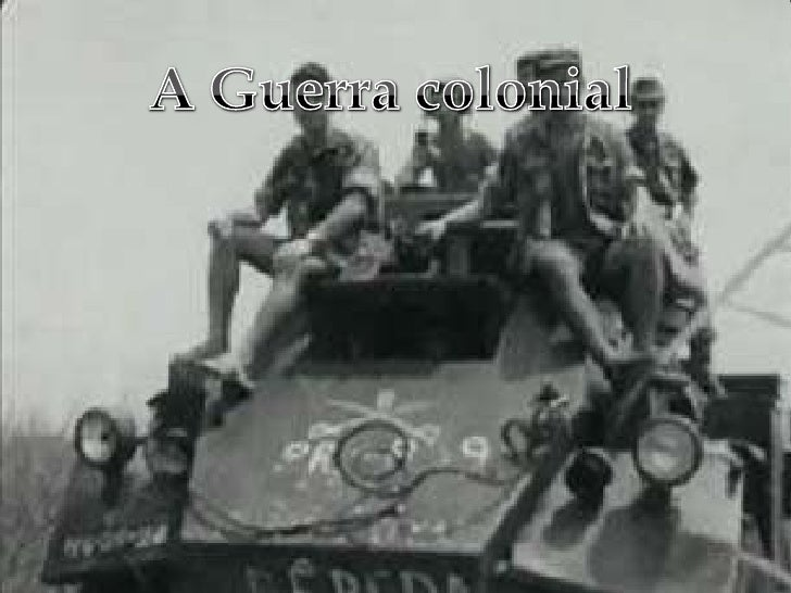 A Guerra colonial  <br />