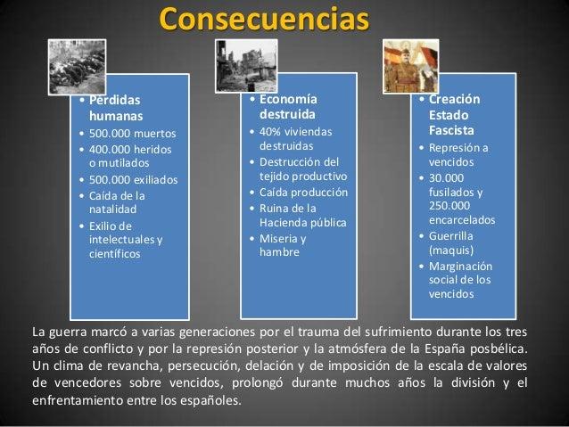 Consecuencias       • Pérdidas                    • Economía                   • Creación         humanas                 ...
