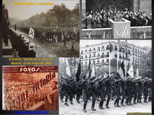 """Vencedores y vencidosEl primer """"desfile de la victoria""""  Madrid, 19 de mayo de 1939    Vídeo oficial del NO-DO"""