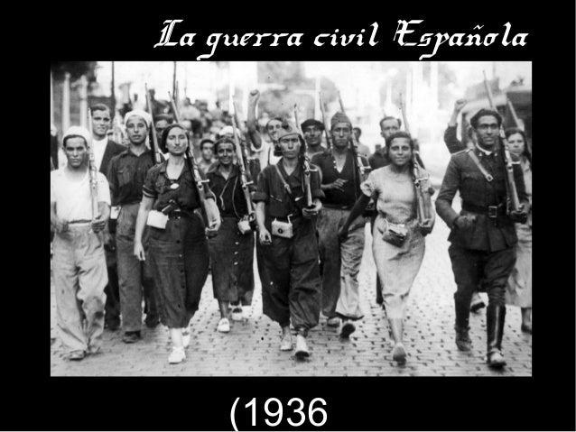 La guerra civil Española (1936